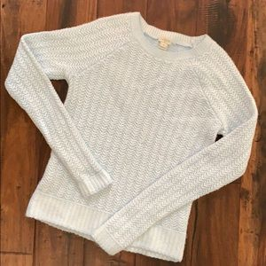 J. Crew Cable Knit Sweater XS